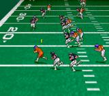 Pro Quarterback SNES Trying to get away.
