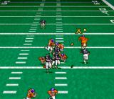 Pro Quarterback SNES The X marks where the ball is being thrown.