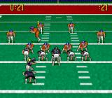 Pro Quarterback SNES On defense