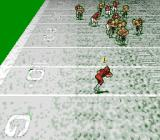Pro Quarterback SNES Playing in the snow.