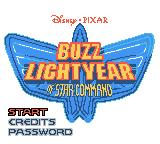 Disney•Pixar Buzz Lightyear of Star Command Game Boy Color Title screen (English version)