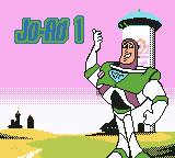 Disney•Pixar Buzz Lightyear of Star Command Game Boy Color Level 1's loading screen.