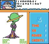 Disney•Pixar Buzz Lightyear of Star Command Game Boy Color Level 2's briefing. I must stop Gravatina.