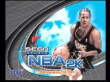 NBA 2K Dreamcast Title Screen