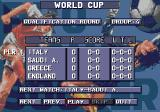 AWS Pro Moves Soccer Genesis World Cup mode has all the teams in the game involved