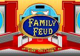 Family Feud Genesis Title screen