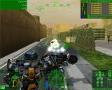 MechWarrior 4: Mercenaries Windows Bombarding an Unsuspecting Flea with Missiles