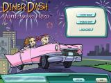Diner Dash: Hometown Hero Windows Title screen and main menu