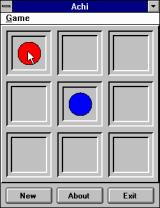 Brain Games For Windows Windows 3.x Achi begins like any other Tic-Tac-Toe game.