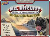 Mr. Biscuits: The Case of the Ocean Pearl Windows Main menu
