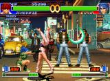 The King of Fighters '98: The Slugfest Neo Geo CD Leona's Eye Slasher wasn't successful: it's the chance to Shermie perform her DM Shermie Carnival!