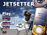 Jetsetter Windows Title screen and main menu