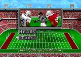 College Football USA 96 Genesis The coin toss