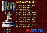 College Football USA 96 Genesis MVP contenders