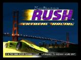 San Francisco Rush: Extreme Racing Nintendo 64 Title screen
