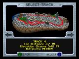 San Francisco Rush: Extreme Racing Nintendo 64 Track select
