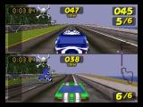 San Francisco Rush: Extreme Racing Nintendo 64 2-players in One Race mode