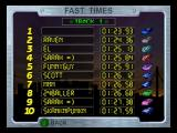 San Francisco Rush: Extreme Racing Nintendo 64 Records