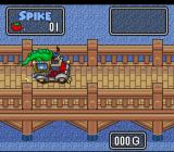 The Twisted Tales of Spike McFang SNES How the game starts.