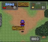 The Twisted Tales of Spike McFang SNES Jumping logs.