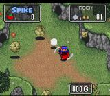 The Twisted Tales of Spike McFang SNES Spinning with the cape.