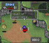 The Twisted Tales of Spike McFang SNES Spike receives a call on his cellphone informing him that he went up a level.