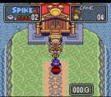 The Twisted Tales of Spike McFang SNES Fighting a cane.