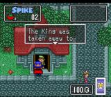 The Twisted Tales of Spike McFang SNES The villagers answer the door in this game.