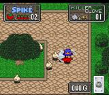 The Twisted Tales of Spike McFang SNES Fighting a Killer Clove.
