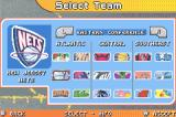 Backyard Basketball Game Boy Advance Choose your team.