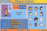 Backyard Basketball Game Boy Advance Select your players.
