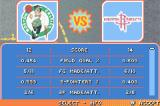 Backyard Basketball Game Boy Advance The score at half-time