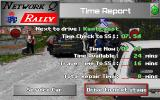 Network Q RAC Rally DOS Time report