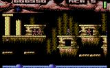 Ninja Commando Commodore 64 Defeat three enemies in a row to gain new weapons