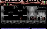 Ninja Commando Commodore 64 Jumped on two enemies at the same time