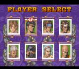Power Instinct SNES Choose a fighter.