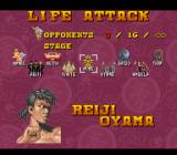 Power Instinct SNES Life attack options