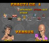 Power Instinct SNES Practice 1 options