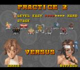 Power Instinct SNES Practice 2 options
