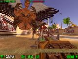 Serious Sam: The First Encounter Windows Hordes of enemies approaching.