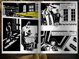 Nick Chase: A Detective Story Windows The story progresses in comic book style.