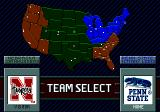 College Football's National Championship II Genesis Team select map