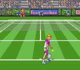 David Crane's Amazing Tennis Genesis Playing on a grass court