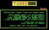 Turbo DOS Title screen