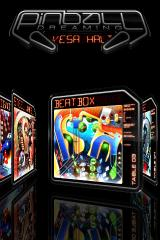 Pinball Dreams iPhone Main menu with improved graphics
