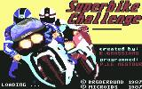 Superbike Challenge Commodore 64 Title Screen