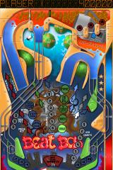 Pinball Dreams iPhone Beat Box level with improved graphics