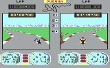 Superbike Challenge Commodore 64 On the track
