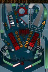 Pinball Dreams iPhone Nightmare level with original graphics