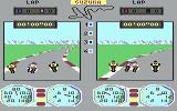 Superbike Challenge Commodore 64 Challenging other bikers